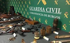Detenido por almacenar armas y explosivos en su casa de Miranda de Ebro