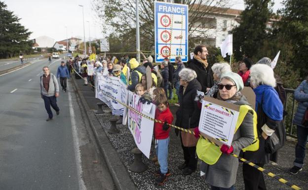 Acto a favor de los migrantes./De la Hera