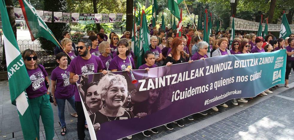 Tumban el recurso de ELA contra el aumento de servicios mínimos en la huelga de residencias