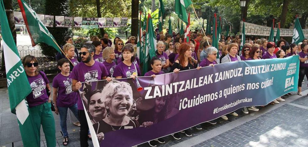 ELA baraja recurrir la sentencia que avala los servicios mínimos en la huelga de residencias
