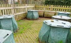 Nueva visita de seguimiento a los seis puntos de compostaje comunitario