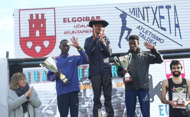 El etíope Worku y la keniana Obiri dan espectáculo en Elgoibar