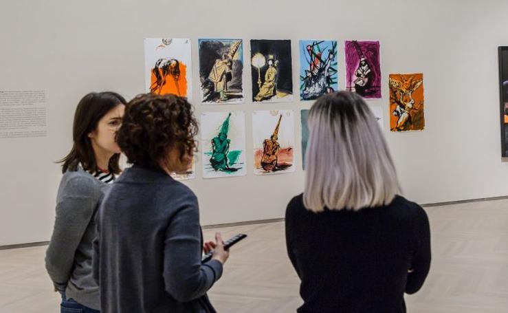 Las sombras de Goya se adueñan del Kursaal