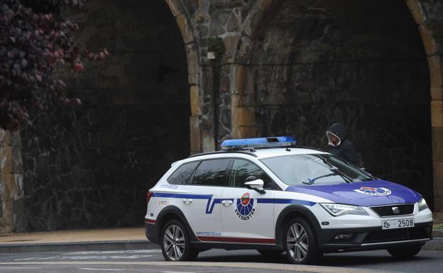 Detenido tras agredir a un hombre en la vía pública en Irun