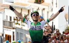 Gonzalo Serrano estrena su palmarés y da la primera victoria al Caja Rural