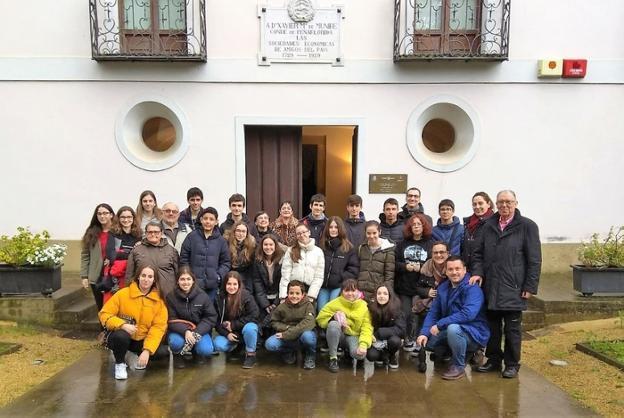 Visita del Conservatorio de Bilbao