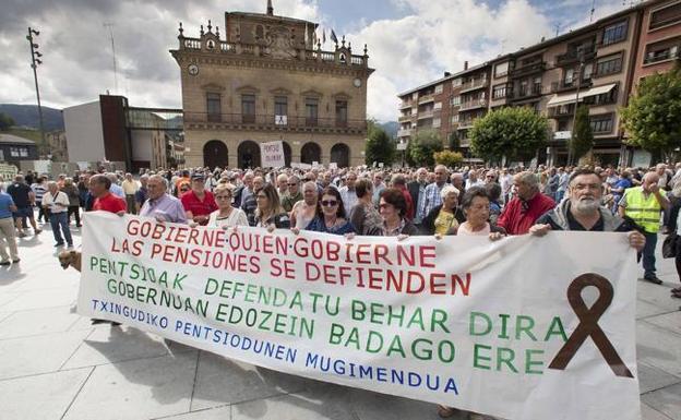 Pensionistas de Txingudi pide que en la reactivación económica «se respeten derechos y nadie quede atrás»