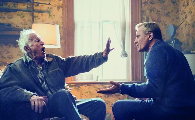 Lance Henriksen y Viggo Mortensen en 'Falling'.