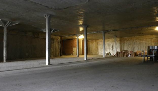 Tras el proyecto, se podrá contratar la obra para poner a disposición de la ciudadanía los 2.200 m2 de subsuelo de San Juan aún en desuso. / F. PORTU