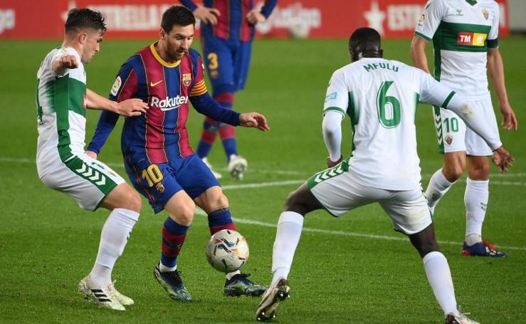 Las mejores imágenes del Barça-Elche