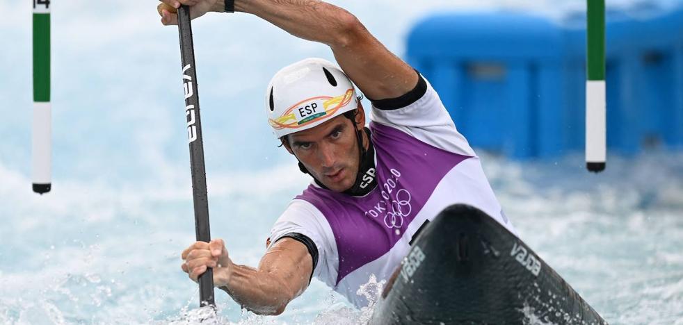 Ander Elosegi: «¿Otro ciclo olímpico? Ahora solo pienso en descansar»