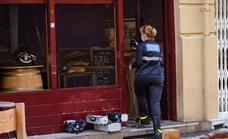 Fallece un hombre en el incendio de un bar en San Sebastián