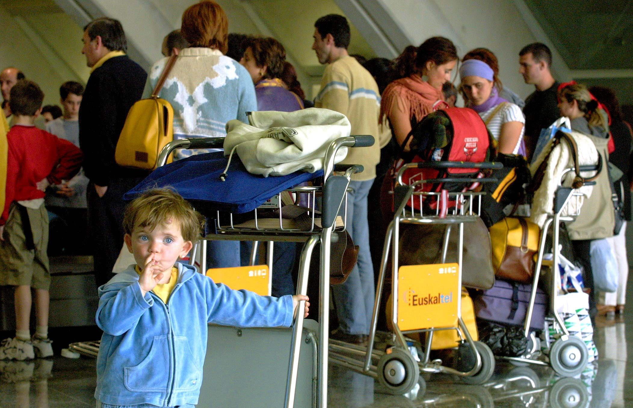 Viajar con niños sí es posible