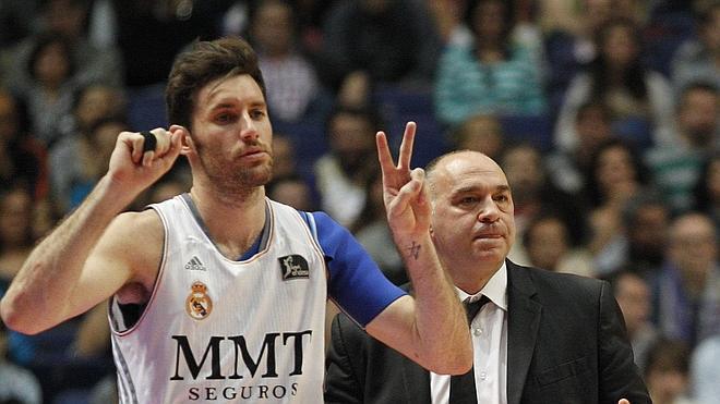 Rudy deja al Real Madrid a dos victorias de ser primero