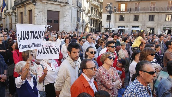Imputados tres trabajadores de Ferrocarrils por el accidente del metro de Valencia