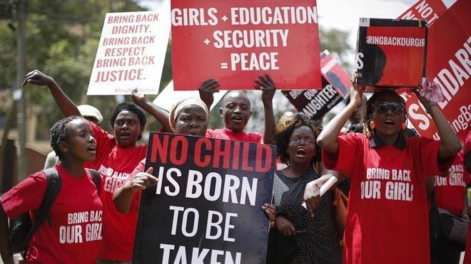 Boko Haram prepara la liberación de la mitad de las niñas secuestradas