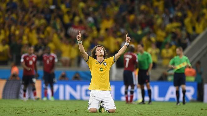 La alegría brasileña de David Luiz