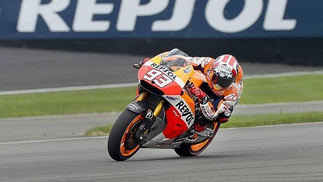 Márquez llega a Brno con la historia como único rival