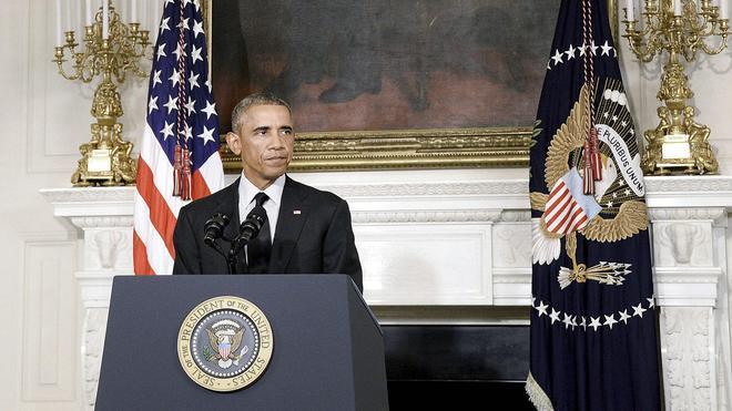Obama: «Ésta no es una lucha de EE UU en solitario»