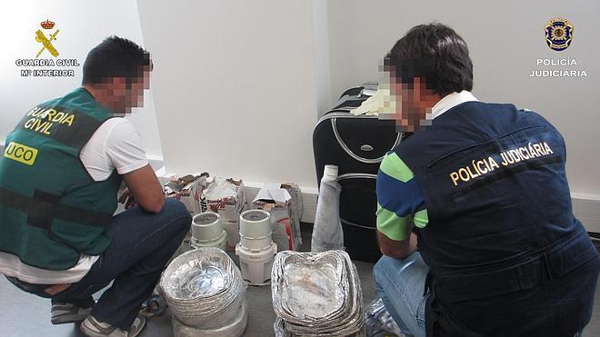 Detienen a 14 personas que distribuían heroína en Canarias y Portugal
