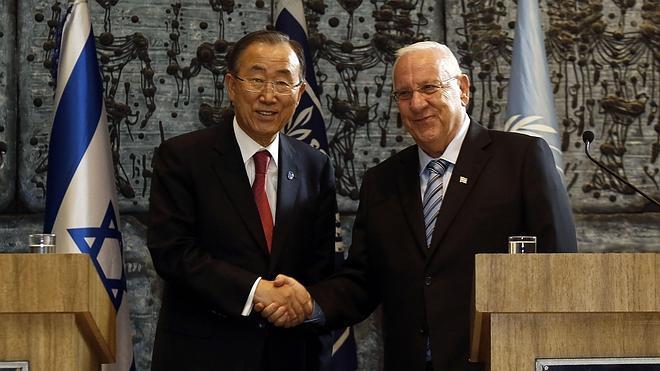 Ban Ki-moon insiste en la necesidad de acabar con la ocupación israelí