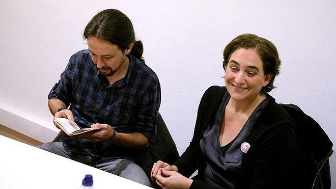 Principio de acuerdo entre Guanyem, Equo, Podemos, ICV y Procés Constituent para las municipales