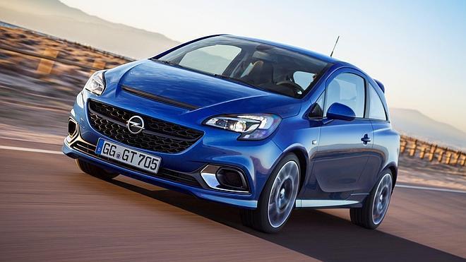 Opel Corsa OPC, todo músculo para mover 207 CV