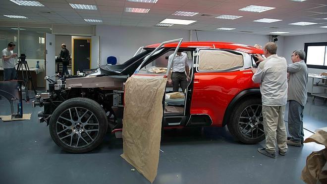 Así se hizo el nuevo Citroën Aircross Concept Car