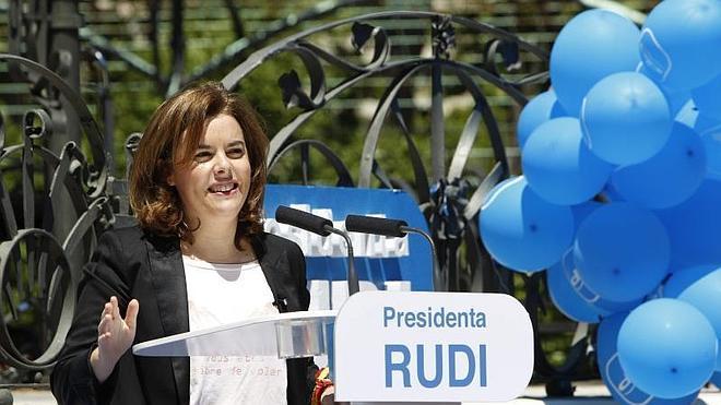 Santamaría: «El 24-M se decide entre estar mejor o volver a las penurias»