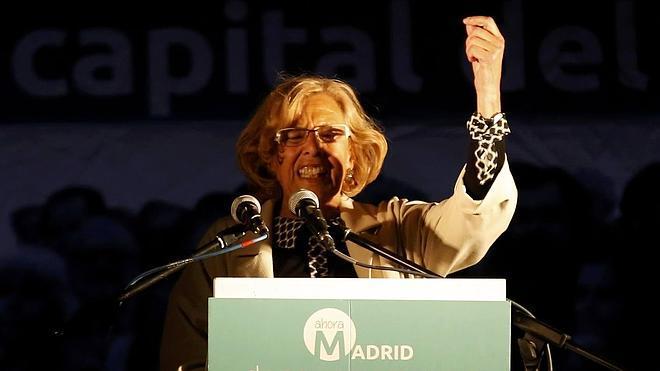 Manuela Carmena, la 'lideresa' del 15M