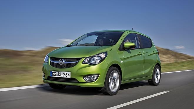 Opel Karl, el benjamín de la gama