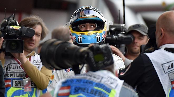 Alonso: «Todo está bien»