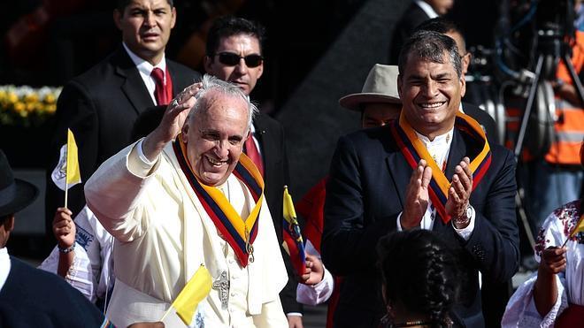 Francisco regresa a Latinoamérica y recuerda la deuda del continente con los más vulnerables