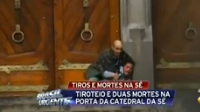 Un mendigo muere tiroteado tras liberar a una rehén en Brasil
