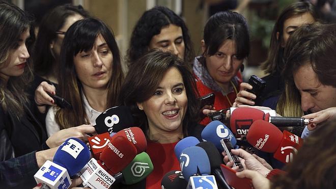 Santamaría pide a Sánchez que anteponga el interés general a los cálculos de partido