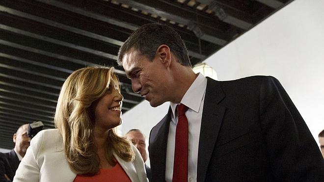 Díaz explicita su «apoyo» a Sánchez para formar un gobierno alternativo al PP
