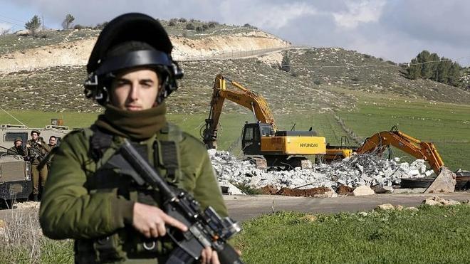 Una palestina de 13 años, abatida al intentar apuñalar a un policía israelí