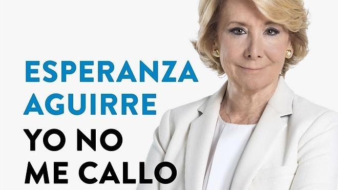 Aguirre, sobre Rajoy: «Sentí como si alguien me quitara el suelo de debajo de los pies»