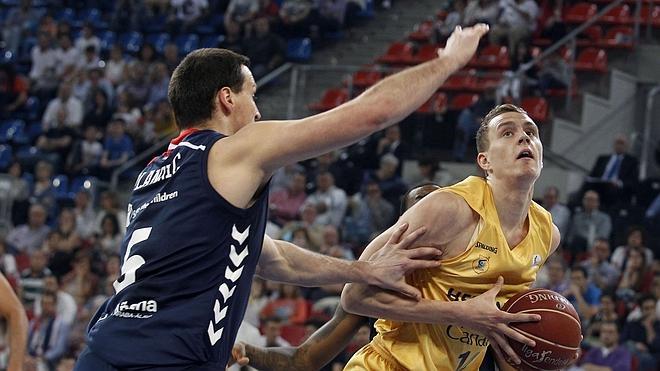 El Gran Canaria consigue empatar la serie ante el Baskonia