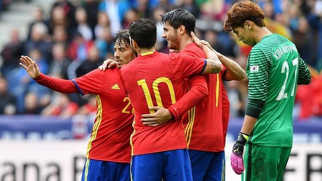 España disfruta donde forjó su leyenda