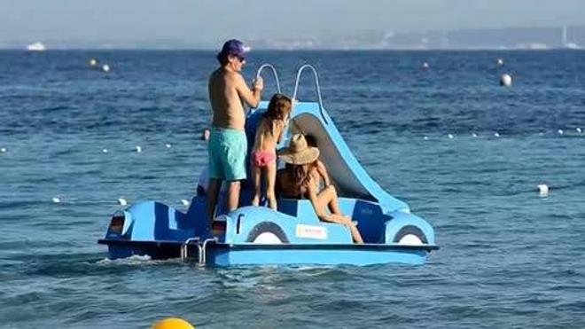 Alessandra Ambrosio luce tipazo en Ibiza