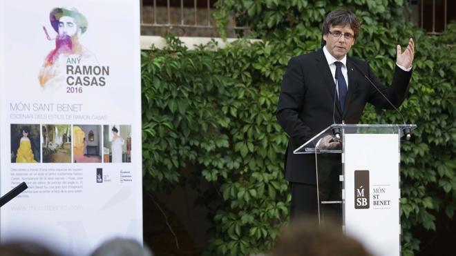 Puigdemont niega su implicación en el caso Termyca: «Soy un presidente 0,0%»