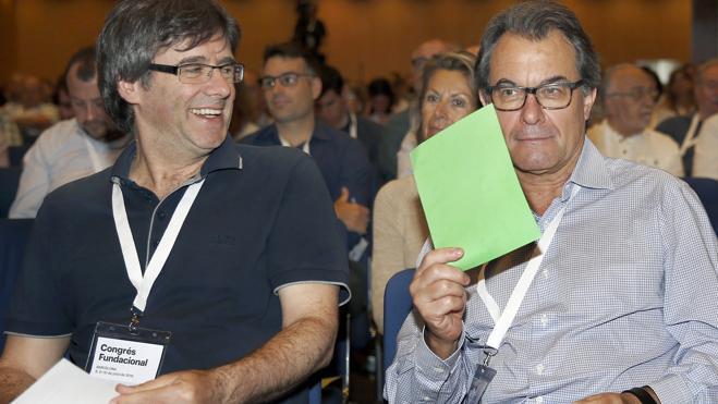 La nueva Convergència apuesta por una Cataluña independiente en forma de república
