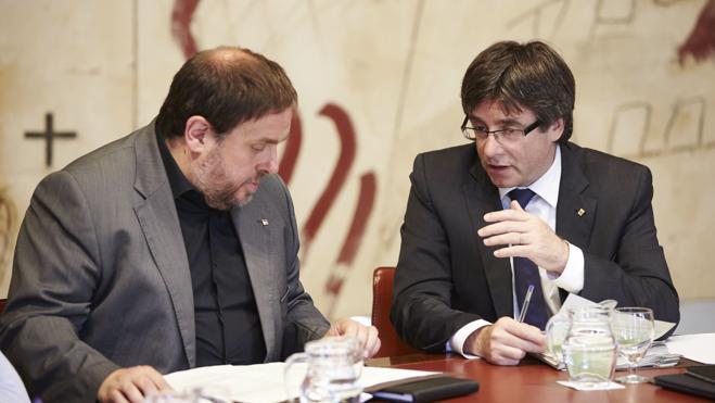Los independentistas pactan un «mecanismo unilateral» para desconectarse de España