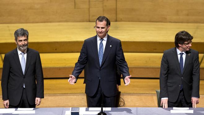 El Rey reivindica la independencia judicial como elemento «imprescindible» para la democracia
