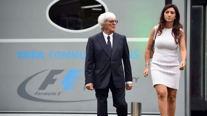 La Policía rescata a la suegra de Bernie Ecclestone