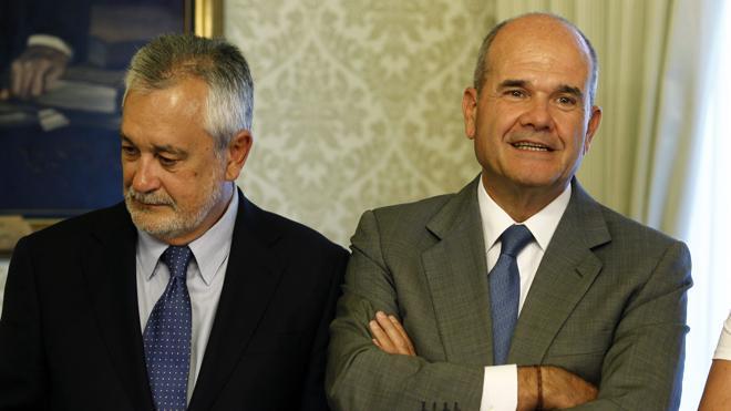 La oposición culpa a Díaz, Chaves y Griñán del «fraude» en los cursos de formación