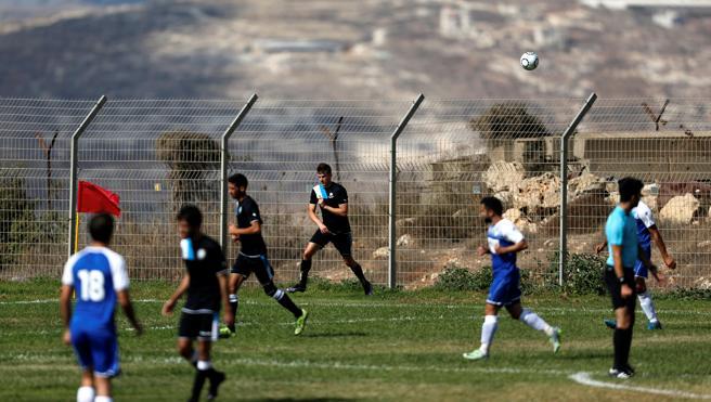 El fútbol israelí en las colonias, ¿en fuera de juego?