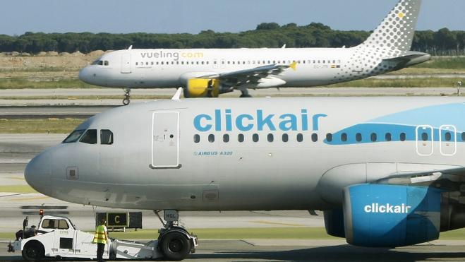 Los pasajeros de las 'low cost' crecen un 12,6% hasta septiembre hasta los 31,7 millones