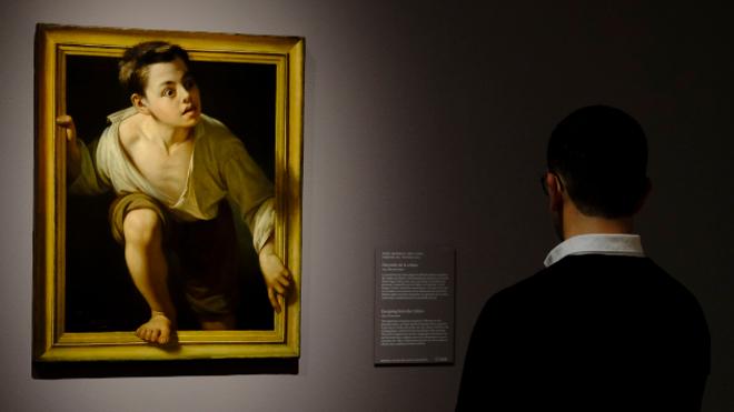 El artista ante su espejo en el Prado